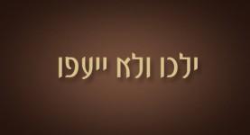 ילכו ולא ייעפו - ישראל אלדד